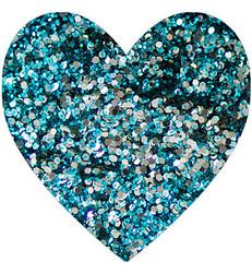 Wow! Sparkles Glitter - jauhe sävy Jade