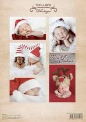 Nellie's Vintage Christmas Babies -korttikuvat