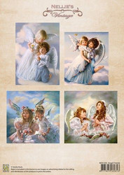 Nellie's Vintage korttikuvat Angel Friends