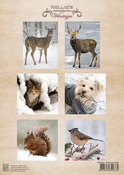 Nellie's Vintage Winter, animals -korttikuvat