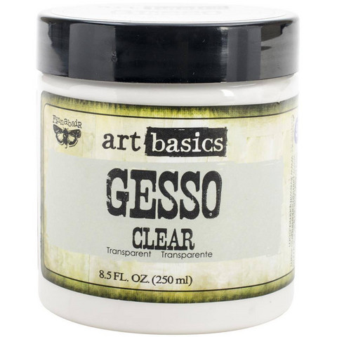 Finnabair Art Basics Gesso, clear, 250 ml