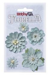 FLORELLA -kukkalajitelma vaaleansininen