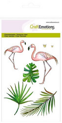 CraftEmotions leimasinsetti Flamingo