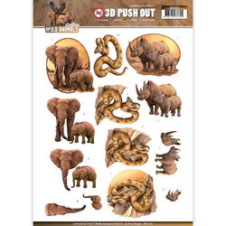 Amy Design - Wild Animals 3D kuvat Elephant