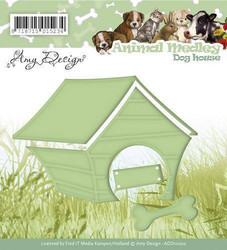 Amy Design Animal Medley stanssi Dog house, koirankoppi