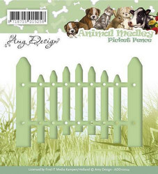 Amy Design Animal Medley stanssi Picked Fence, aita