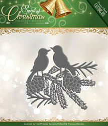 Precious Marieke Spirit of Christmas stanssi Spirited Birds