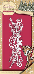 Yvonne Creations Traditional Christmas stanssi Holiday Garland