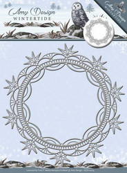 Amy Design Wintertide stanssi Ice Crystal Frame