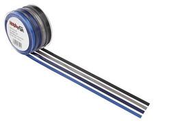 Satiininauha, sininen, 3 mm, 50 m