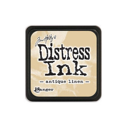 Tim Holtz Distress Mini Ink -leimasintyyny, sävy Antique Linen