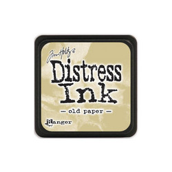 Tim Holtz Distress Mini Ink -leimasintyyny, sävy Old Paper