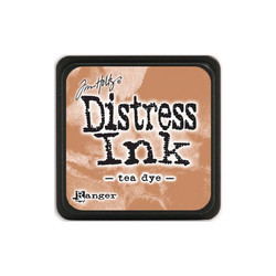 Tim Holtz Distress Mini Ink -leimasintyyny, sävy Tea Dye