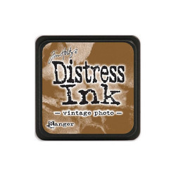 Tim Holtz Distress Mini Ink -leimasintyyny, sävy Vintage Photo