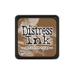 Tim Holtz Distress Mini Ink -leimasintyyny, sävy Gathered Twigs