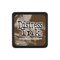 Tim Holtz Distress Mini Ink -leimasintyyny, sävy Walnut Stain