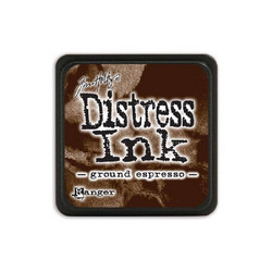 Tim Holtz Distress Mini Ink -leimasintyyny, sävy Ground Espresso