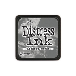 Tim Holtz Distress Mini Ink -leimasintyyny, sävy Hickory Smoke