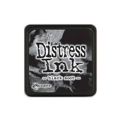 Tim Holtz Distress Mini Ink -leimasintyyny, sävy Black Soot