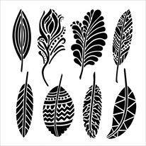 Crafter's Workshop sapluuna Fancy Feathers, sulat