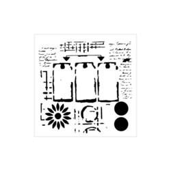 Crafter's Workshop sapluuna Three Tags