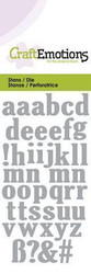 CraftEmotions Lowercase Alphabet -stanssi, kirjaimet