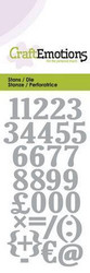 CraftEmotions Numbers -stanssi, numerot