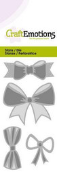 CraftEmotions Bows -stanssisetti, rusetit