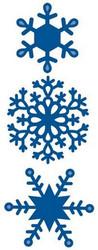 Marianne Designin stanssisetti Finnish Ice Star, jääkristallit
