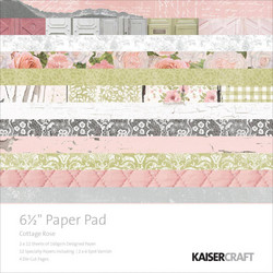 Kaisercraft paperikko Cottage Rose