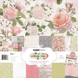 Kaisercraft paperipakkaus Cottage Rose