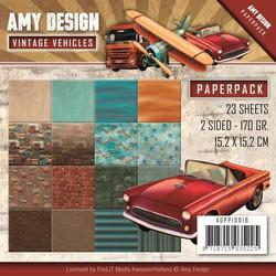 Amy Design paperipakkaus Vintage Vehicles