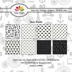 Dixi Craft Mens World -paperipakkaus