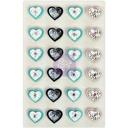 Prima Marketing Traveler's Journal 3D koristeet Aqua Love
