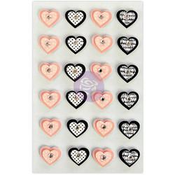 Prima Marketing Traveler's Journal 3D koristeet Diva Heart