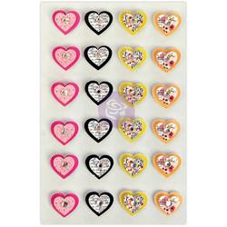 Prima Marketing Traveler's Journal 3D koristeet Loving Hearts