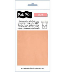 Wow! Fabulous Foil -folio, sävy Blush