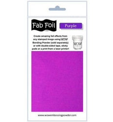 Wow! Fabulous Foil -folio, sävy Purple