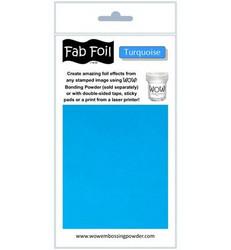 Wow! Fabulous Foil -folio, sävy Turquoise