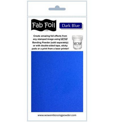 Wow! Fabulous Foil -folio, sävy Dark Blue