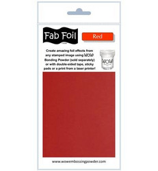Wow! Fabulous Foil -folio, sävy Red
