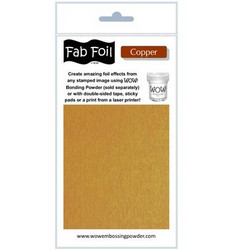 Wow! Fabulous Foil -folio, sävy Copper