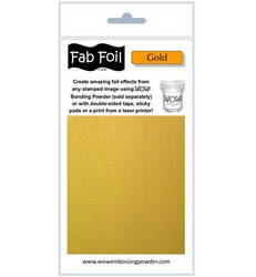 Wow! Fabulous Foil -folio, sävy Gold