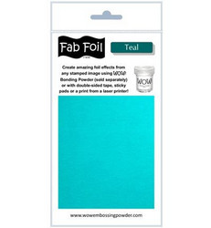 Wow! Fabulous Foil -folio, sävy Teal