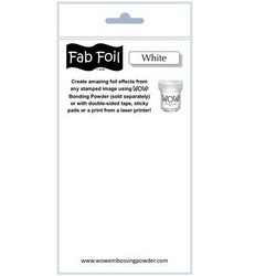 Wow! Fabulous Foil -folio, sävy White