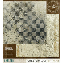 Blue Fern Studios Chesterville skräppipaperi Chester