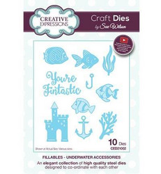 Creative Expressions stanssisetti Underwater Accessories