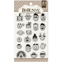 BoBunny leimasinsetti Festive Emoji