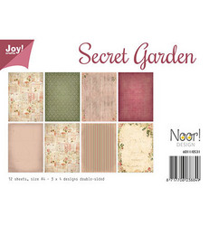 Joy! Crafts paperikko A4 Secret Garden
