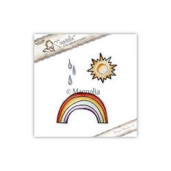 Magnolia Sun, Raindrops & Rainbow Kit  -leimasinsetti